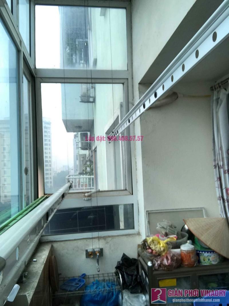 Sửa giàn phơi đồ thông minh nhà chị Nga, chung cư N4A Trung Hòa Nhân Chính, Cầu Giấy, Hà Nội - 05