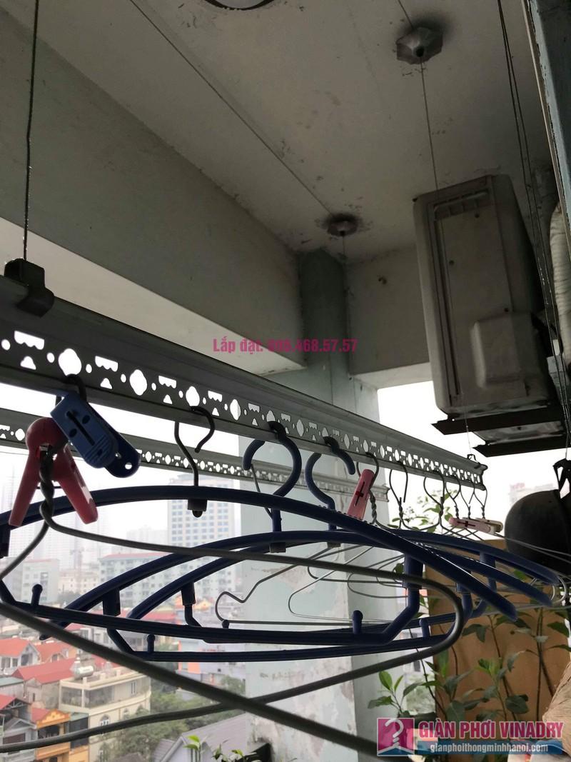 Sửa giàn phơi thông minh 999B nhà chú Cường, chung cư CT3A - X2 Bắc Linh Đàm - 07