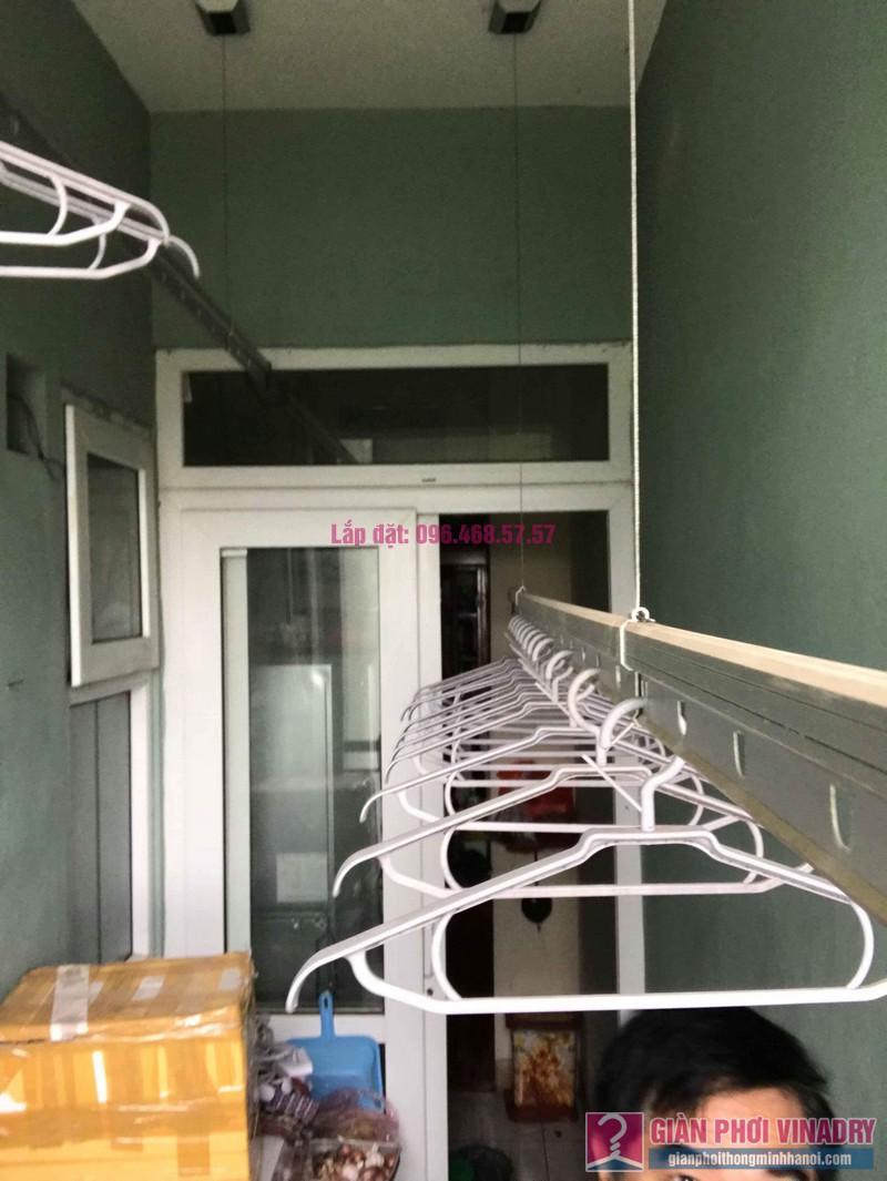 Sửa giàn phơi giá rẻ nhà anh Hiệu, chung cư NC2A, KĐT Cầu Bươu, Thanh Trì, Hà Nội - 07
