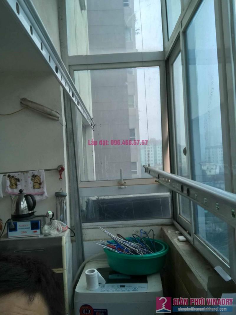 Sửa giàn phơi đồ thông minh nhà chị Nga, chung cư N4A Trung Hòa Nhân Chính, Cầu Giấy, Hà Nội - 07