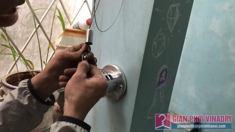 Sửa chữa và lắp đặt giàn phơi nhà anh Trung, ngõ 429 Thụy Khuê, Tây Hồ, Hà Nội - 02