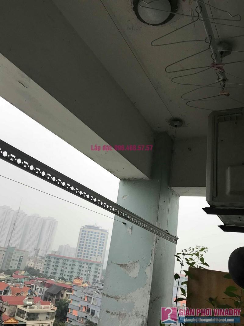 Sửa giàn phơi thông minh 999B nhà chú Cường, chung cư CT3A - X2 Bắc Linh Đàm - 08