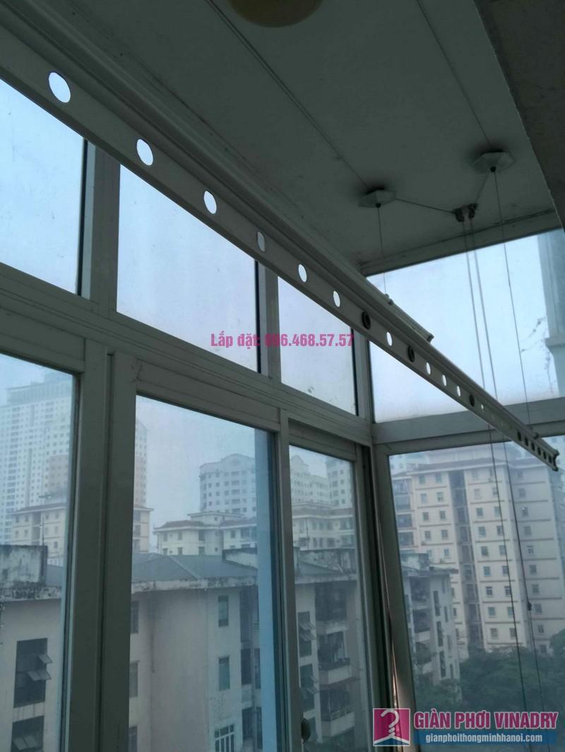 Sửa giàn phơi đồ thông minh nhà chị Nga, chung cư N4A Trung Hòa Nhân Chính, Cầu Giấy, Hà Nội - 08