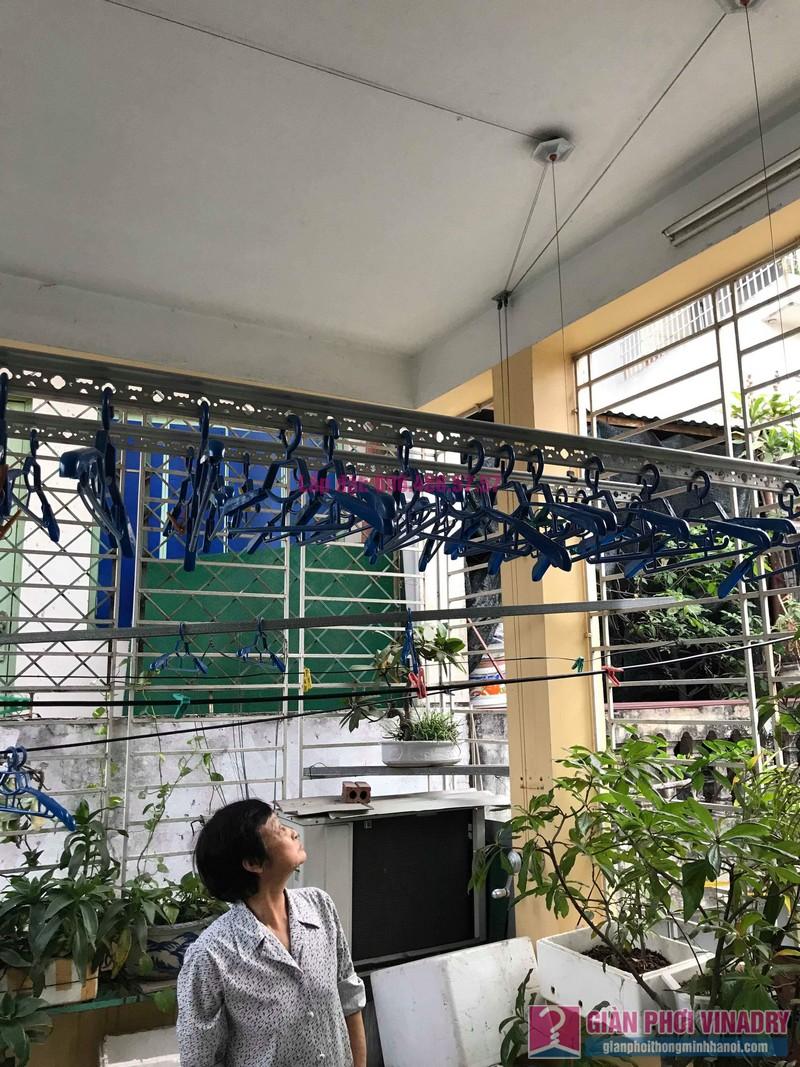 Sửa giàn phơi tại Đống Đa nhà cô Mai, ngõ 23 Phan Phù Tiên, P. Cát Linh - 08