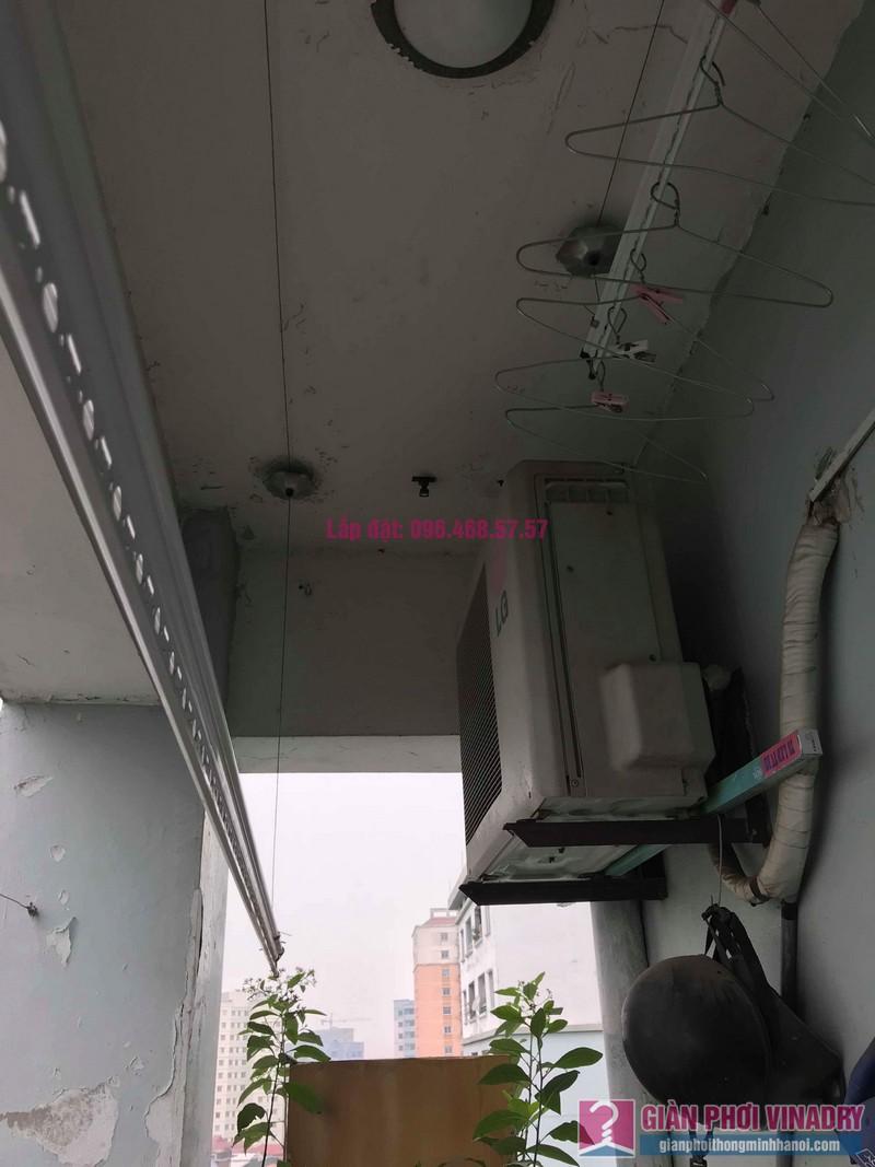 Sửa giàn phơi thông minh 999B nhà chú Cường, chung cư CT3A - X2 Bắc Linh Đàm - 09