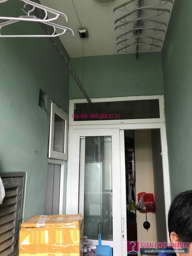 Sửa giàn phơi giá rẻ nhà anh Hiệu, chung cư NC2A, KĐT Cầu Bươu, Thanh Trì, Hà Nội - 09