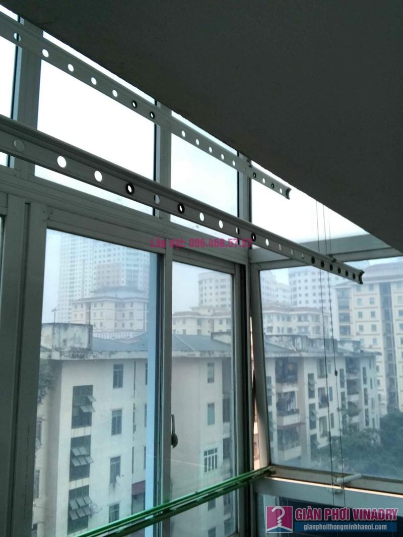 Sửa giàn phơi đồ thông minh nhà chị Nga, chung cư N4A Trung Hòa Nhân Chính, Cầu Giấy, Hà Nội - 09