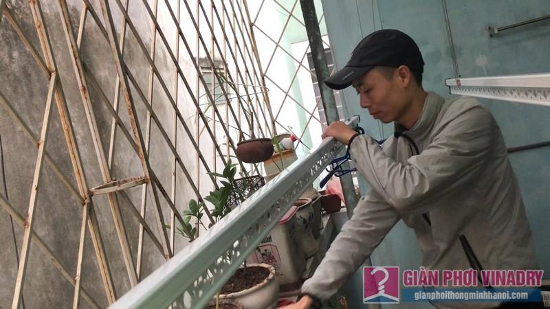 Sửa chữa và lắp đặt giàn phơi nhà anh Trung, ngõ 429 Thụy Khuê, Tây Hồ, Hà Nội - 04