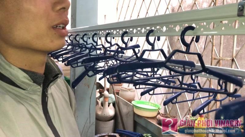 Sửa chữa và lắp đặt giàn phơi nhà anh Trung, ngõ 429 Thụy Khuê, Tây Hồ, Hà Nội - 06