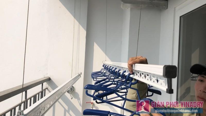 Lắp giàn phơi tại Times City nhà chị Khanh, Tòa T9 - 05