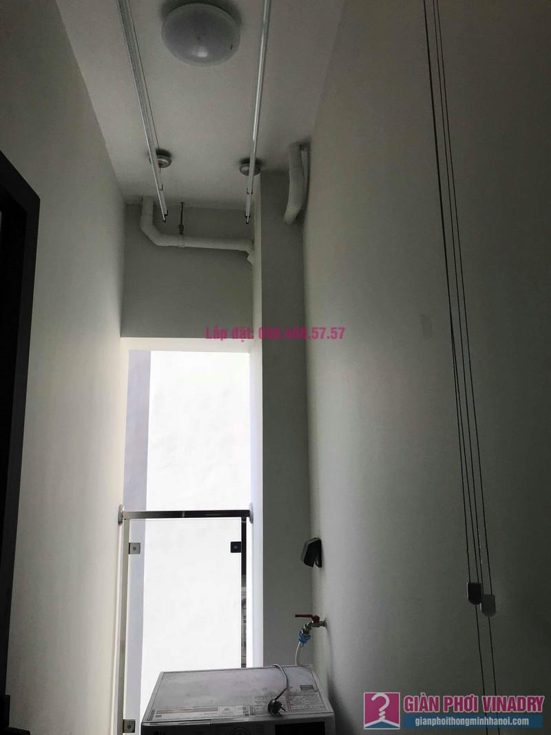 Lắp đặt giàn phơi tại nhà anh Truyền, chung cư Imperia Garden, Thanh Xuân, Hà Nội - 04