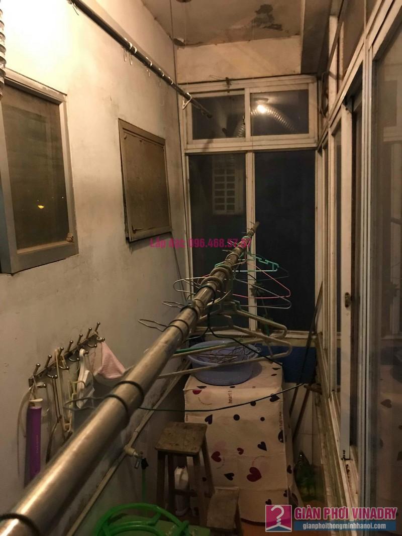 Sửa giàn phơi thông minh Lâm Anh, nhà chị Thắm, chung cư Đồng Tàu, Hoàng Mai, Hà Nội - 06