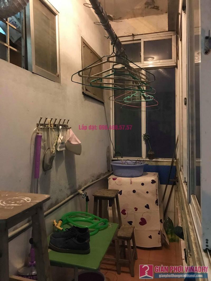 Sửa giàn phơi thông minh Lâm Anh, nhà chị Thắm, chung cư Đồng Tàu, Hoàng Mai, Hà Nội - 07