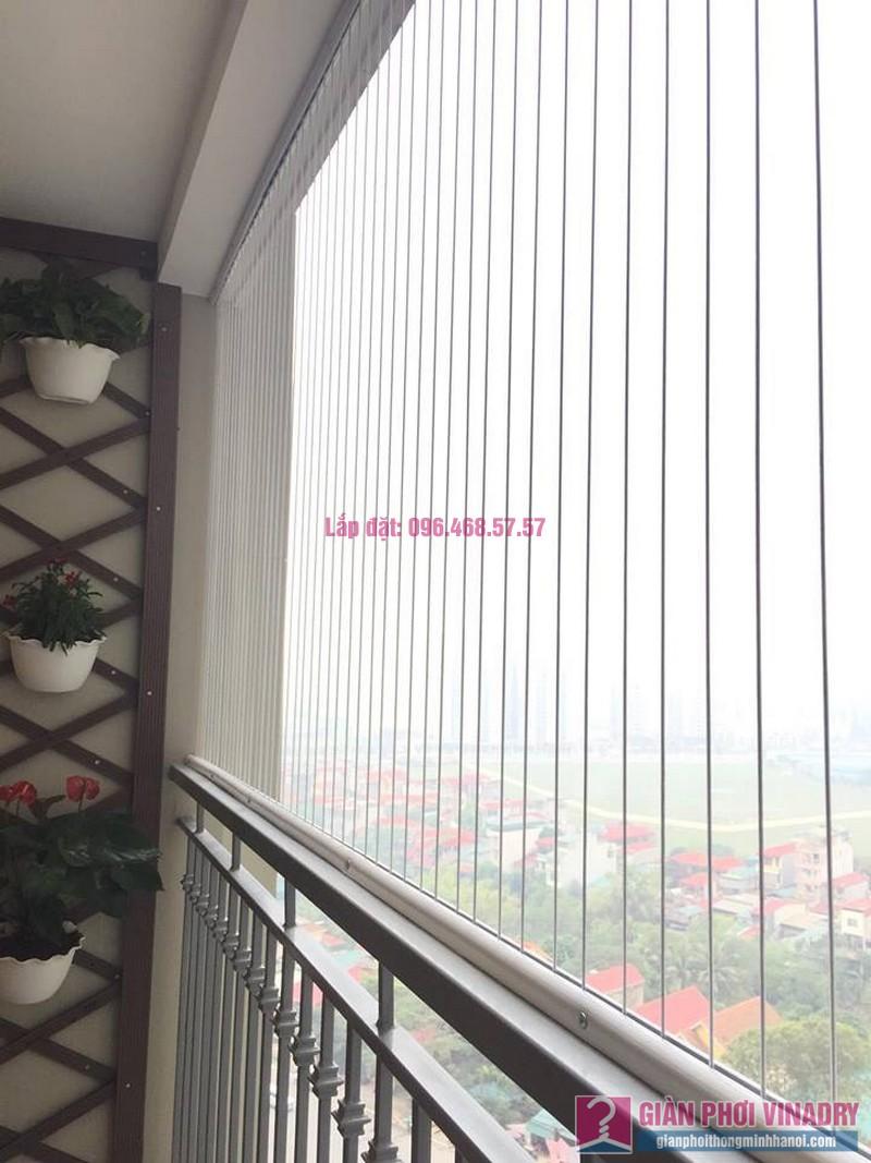 Lắp lưới an toàn ban công nhà chị Yến, chung cư Victoria Văn Phú, Hà Đông, Hà Nội - 03