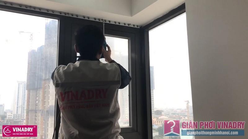 Lắp lưới an toàn ban công nhà chị Hiền, chung cư Golden West, số 2 Lê Văn Thiêm, Thanh Xuân, Hà nội - 02