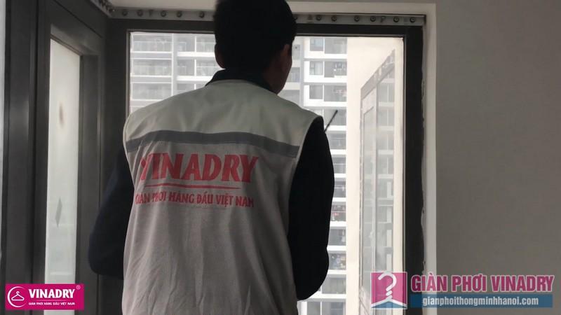Lắp lưới an toàn ban công nhà chị Hiền, chung cư Golden West, số 2 Lê Văn Thiêm, Thanh Xuân, Hà nội - 04