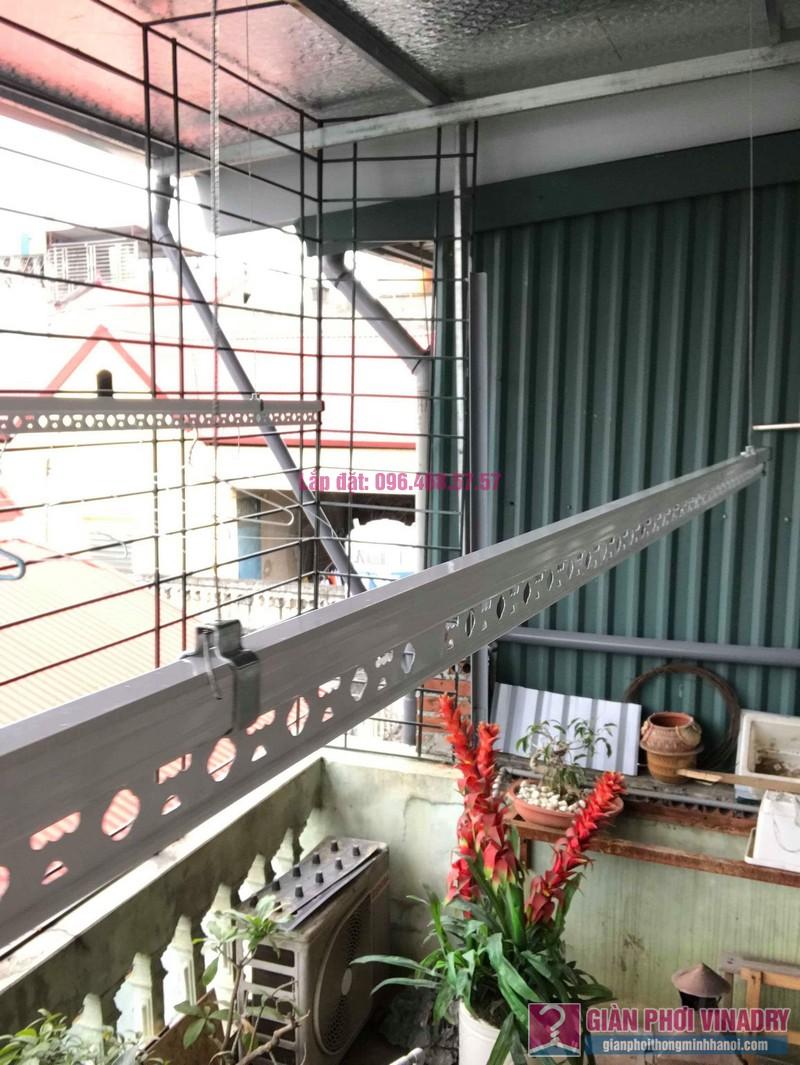 Lắp giàn phơi trần mái tôn nhà chị Bích, ngõ 64 Vĩnh Hưng, Hoàng Mai, Hà Nội - 01