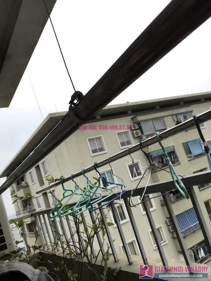 Sửa giàn phơi Duy Lợi nhà chị Hiền, chung cư CT20, KĐT Việt Hưng, Long Biên, Hà Nội - 01