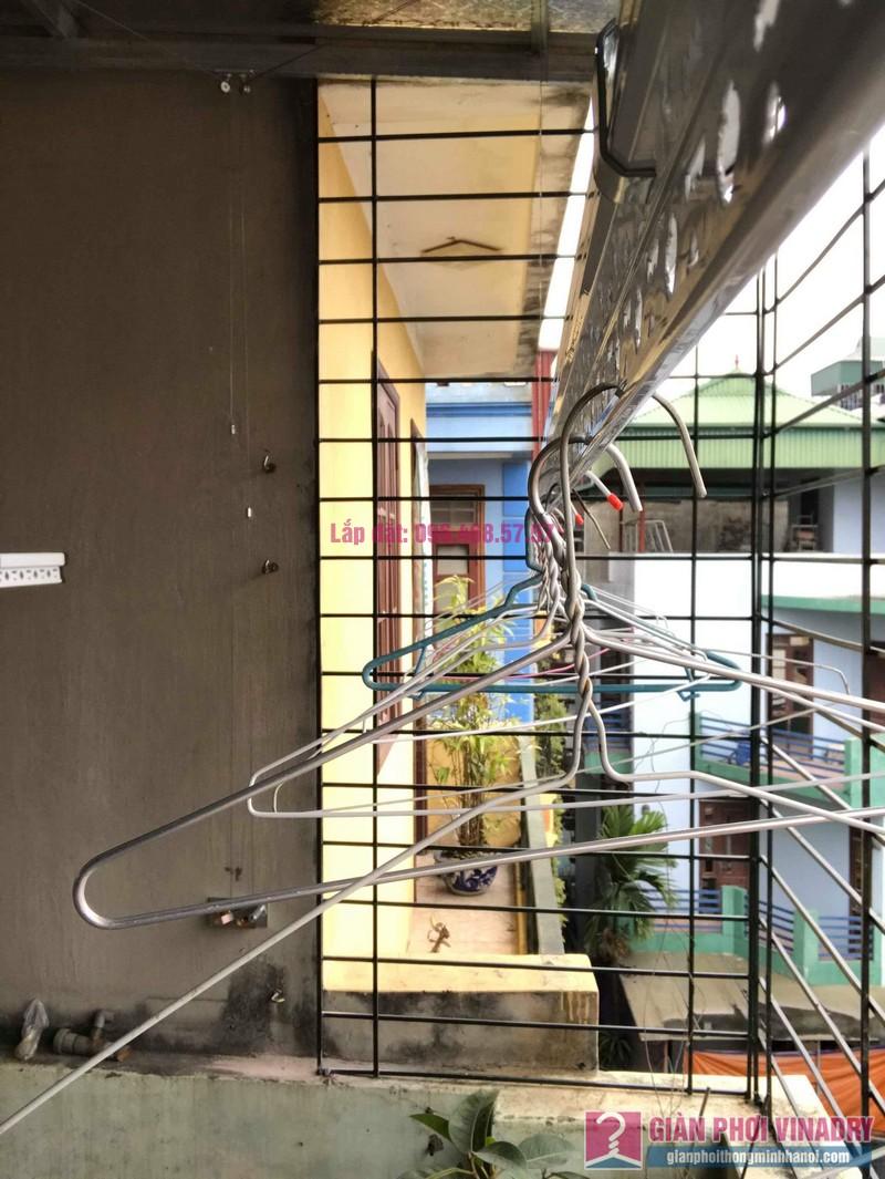 Lắp giàn phơi trần mái tôn nhà chị Bích, ngõ 64 Vĩnh Hưng, Hoàng Mai, Hà Nội - 03