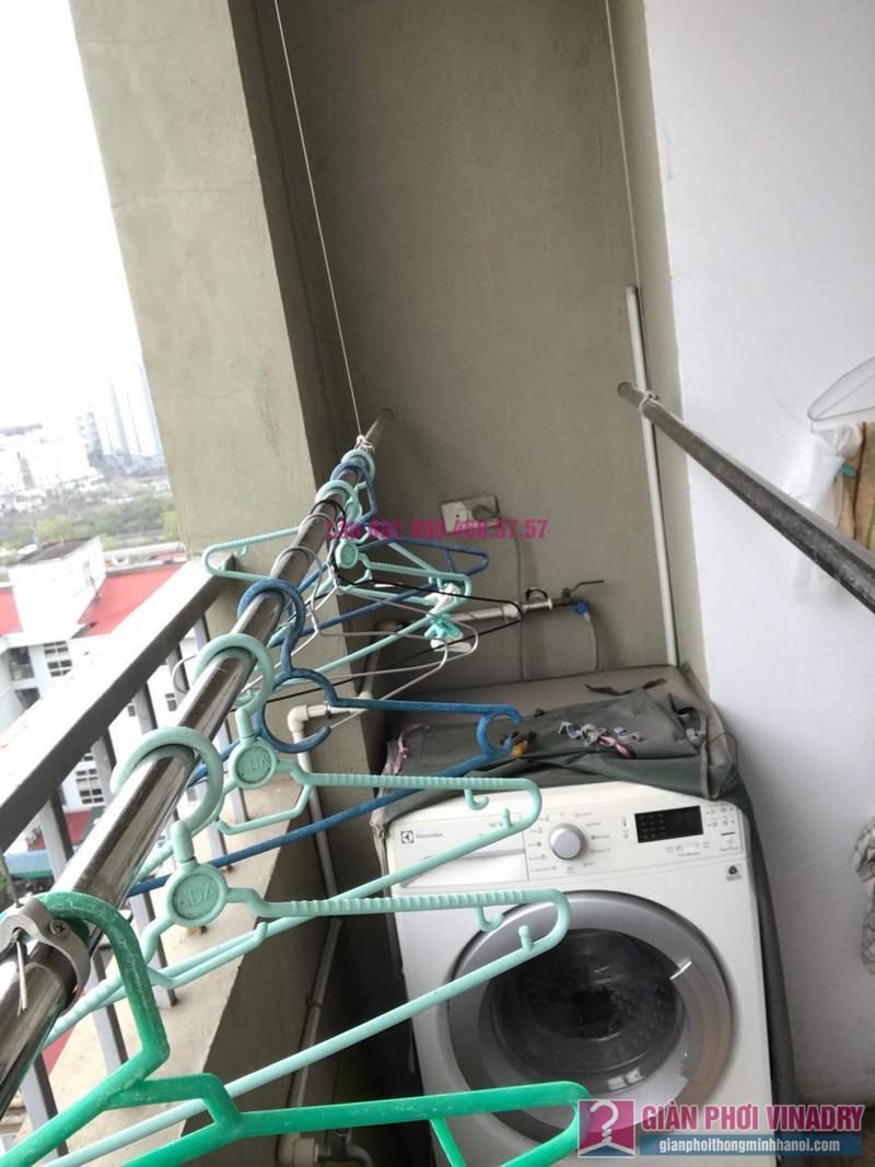Sửa giàn phơi Duy Lợi nhà chị Hiền, chung cư CT20, KĐT Việt Hưng, Long Biên, Hà Nội - 03