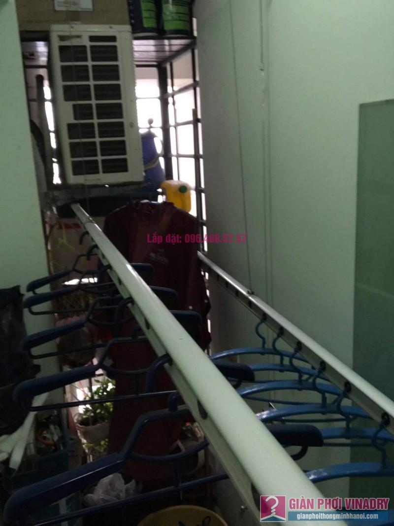 Sửa giàn phơi thông minh 999B nhà chị Hậu, căn 0519 chung cư Hòa Phát 46 Phố Vọng, Đống Đa, Hà Nội - 04