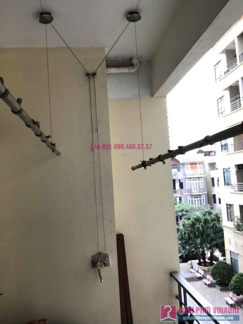 Thay củ quay giàn phơi nhà chị Phương, chung cư An Lạc Mỹ Đình, Nam Từ Liêm, Hà Nội - 04