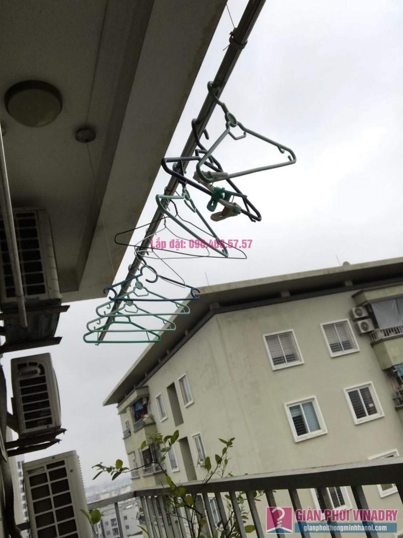 Sửa giàn phơi Duy Lợi nhà chị Hiền, chung cư CT20, KĐT Việt Hưng, Long Biên, Hà Nội - 04