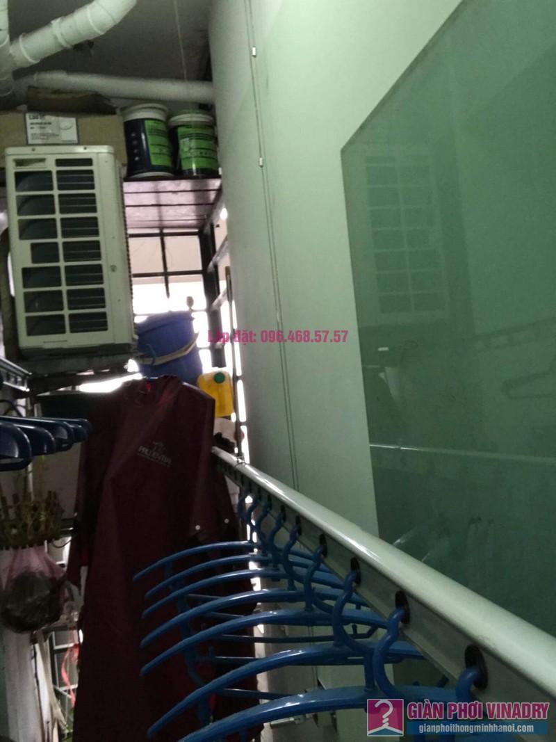 Sửa giàn phơi thông minh 999B nhà chị Hậu, căn 0519 chung cư Hòa Phát 46 Phố Vọng, Đống Đa, Hà Nội - 05