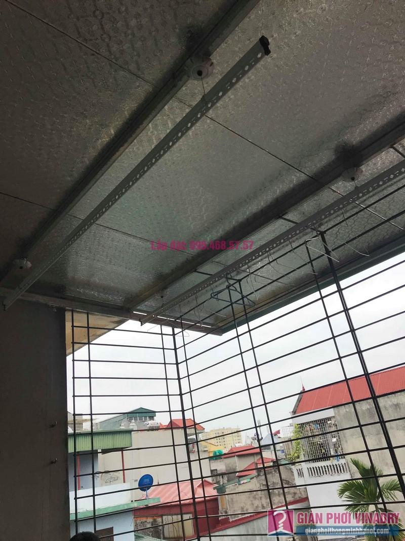 Lắp giàn phơi trần mái tôn nhà chị Bích, ngõ 64 Vĩnh Hưng, Hoàng Mai, Hà Nội - 05