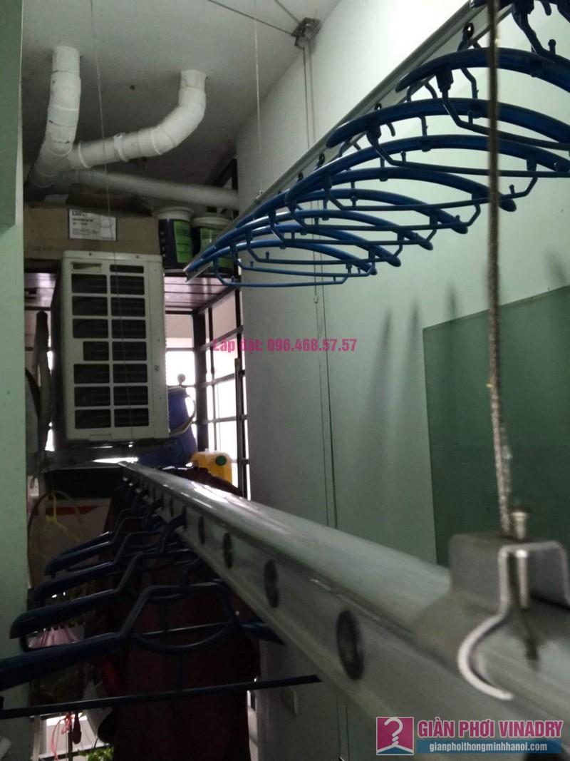 Sửa giàn phơi thông minh 999B nhà chị Hậu, căn 0519 chung cư Hòa Phát 46 Phố Vọng, Đống Đa, Hà Nội - 06