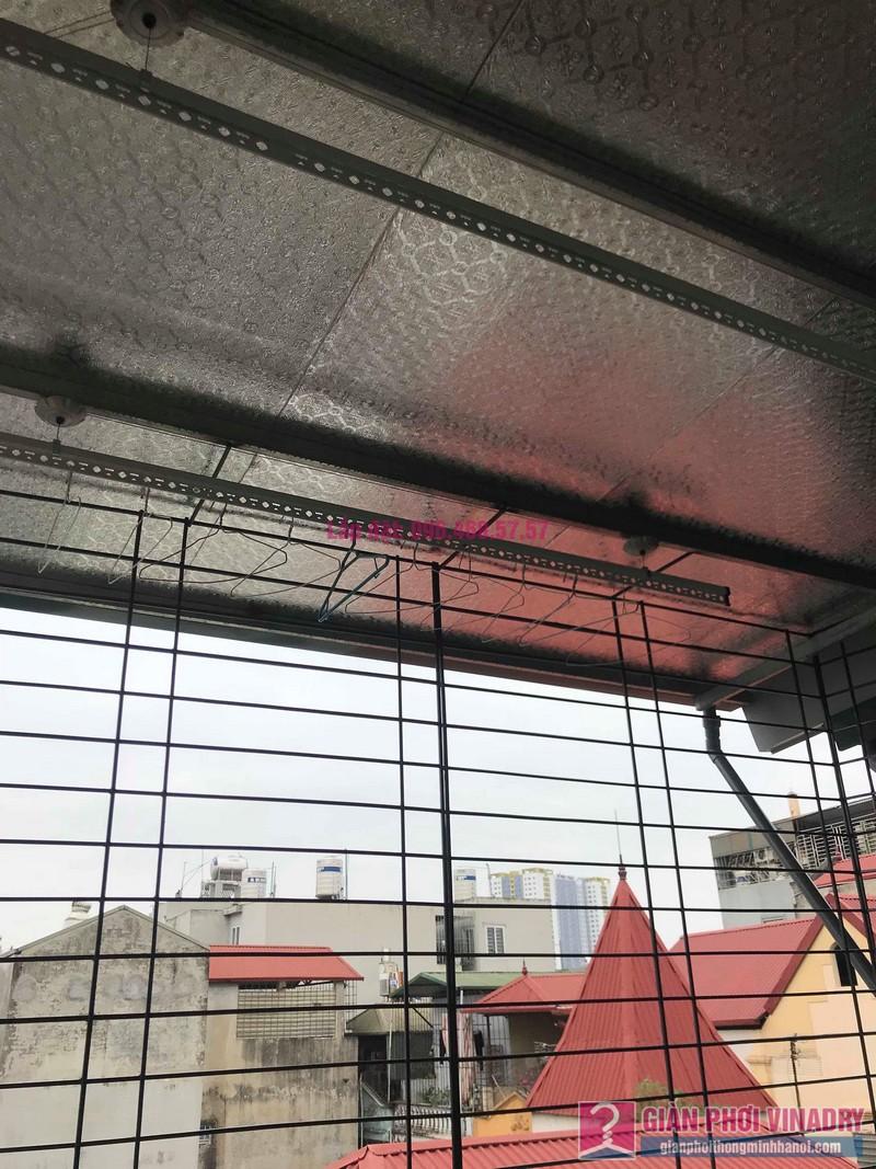 Lắp giàn phơi trần mái tôn nhà chị Bích, ngõ 64 Vĩnh Hưng, Hoàng Mai, Hà Nội - 06