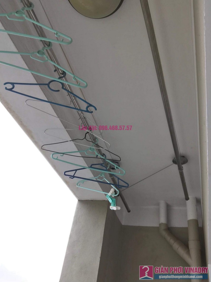 Sửa giàn phơi Duy Lợi nhà chị Hiền, chung cư CT20, KĐT Việt Hưng, Long Biên, Hà Nội - 07
