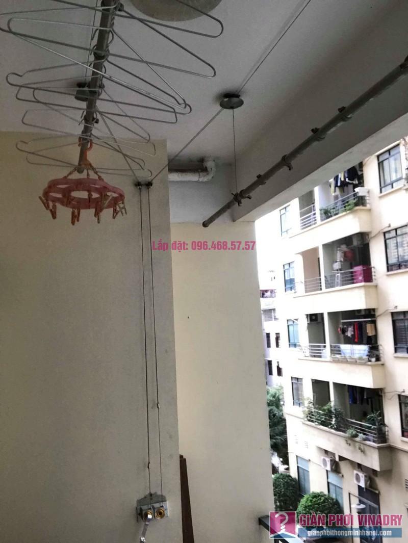 Thay củ quay giàn phơi nhà chị Phương, chung cư An Lạc Mỹ Đình, Nam Từ Liêm, Hà Nội - 08