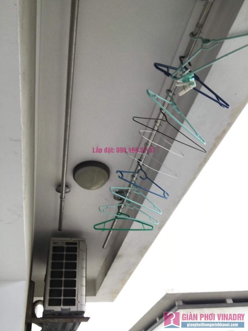 Sửa giàn phơi Duy Lợi nhà chị Hiền, chung cư CT20, KĐT Việt Hưng, Long Biên, Hà Nội - 08
