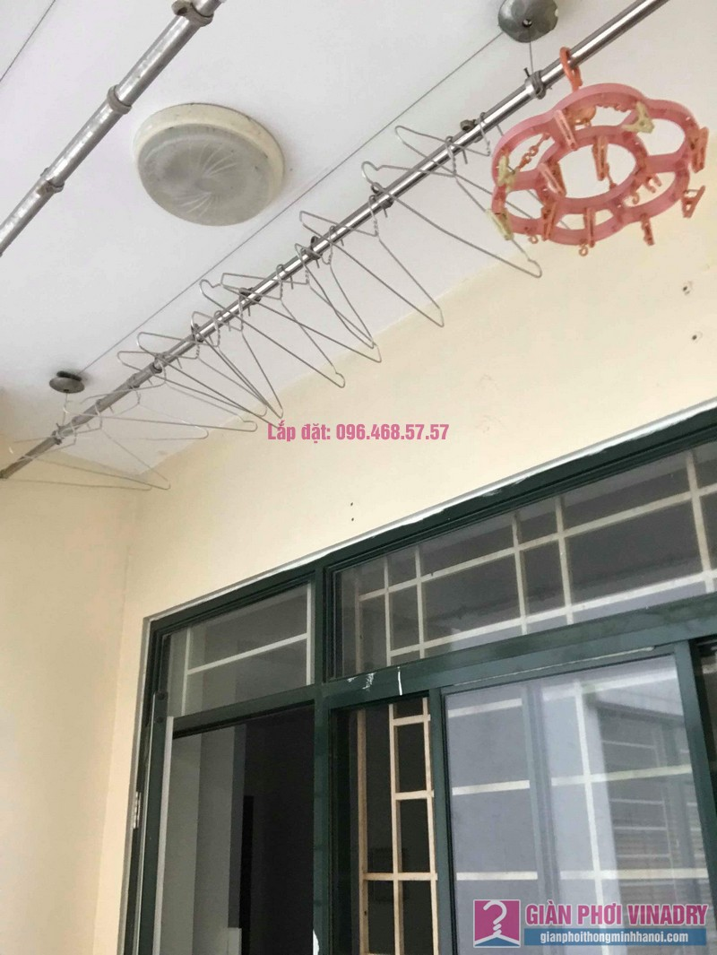 Thay củ quay giàn phơi nhà chị Phương, chung cư An Lạc Mỹ Đình, Nam Từ Liêm, Hà Nội - 09