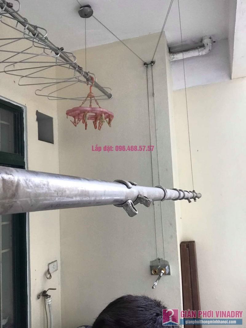 Thay củ quay giàn phơi nhà chị Phương, chung cư An Lạc Mỹ Đình, Nam Từ Liêm, Hà Nội - 10