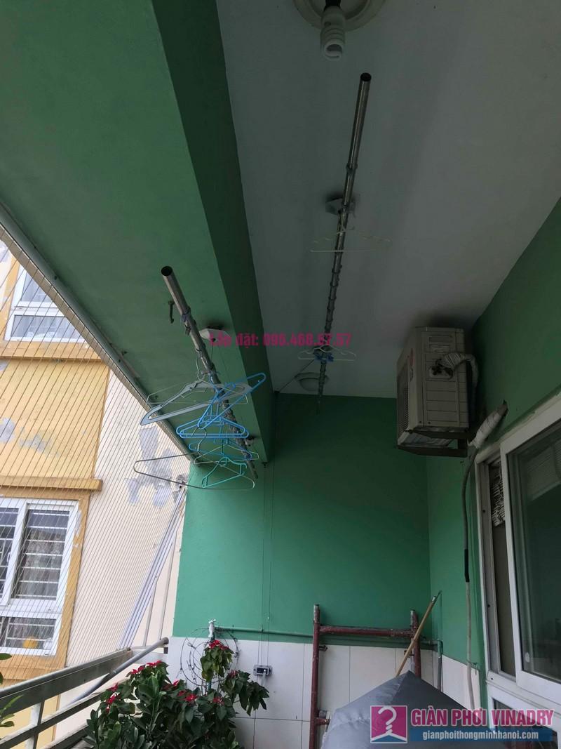 Sửa giàn phơi quần áo giá rẻ nhà chị Nhi, chung cư CT5, KĐT Mễ Trì Thượng, Nam Từ Liêm, Hà Nội- 01
