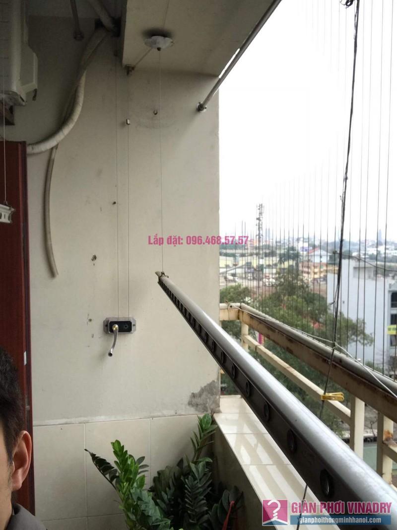 Thay dây cáp giàn phơi nhà chị Dung, Tòa CT10 chung cư Đại Thanh, Thanh Trì, Hà Nội - 01