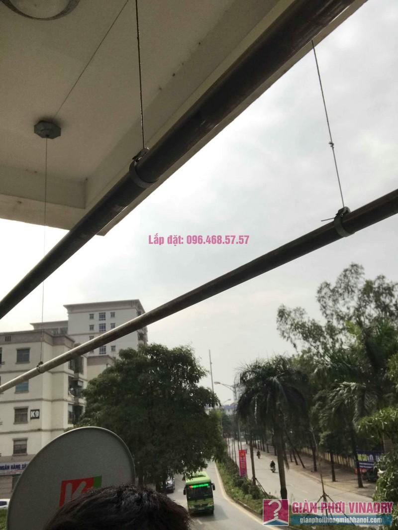 Sửa giàn phơi quần áo nhà chị Chuyên, căn 202 chung cư K8, KĐT Việt Hưng, Long Biên, Hà Nội - 01