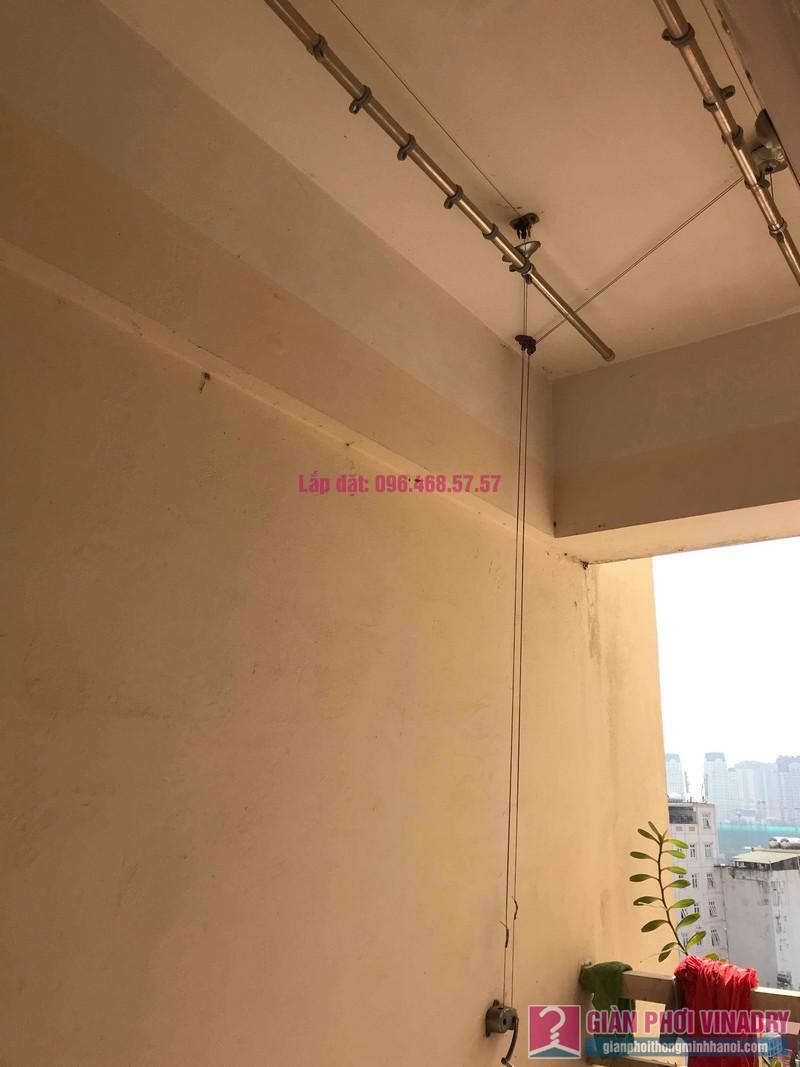 Sửa giàn phơi thông minh nhà anh Nam, chung cư 789 Bộ Quốc Phòng, Nam Từ Liêm, Hà Nội - 01