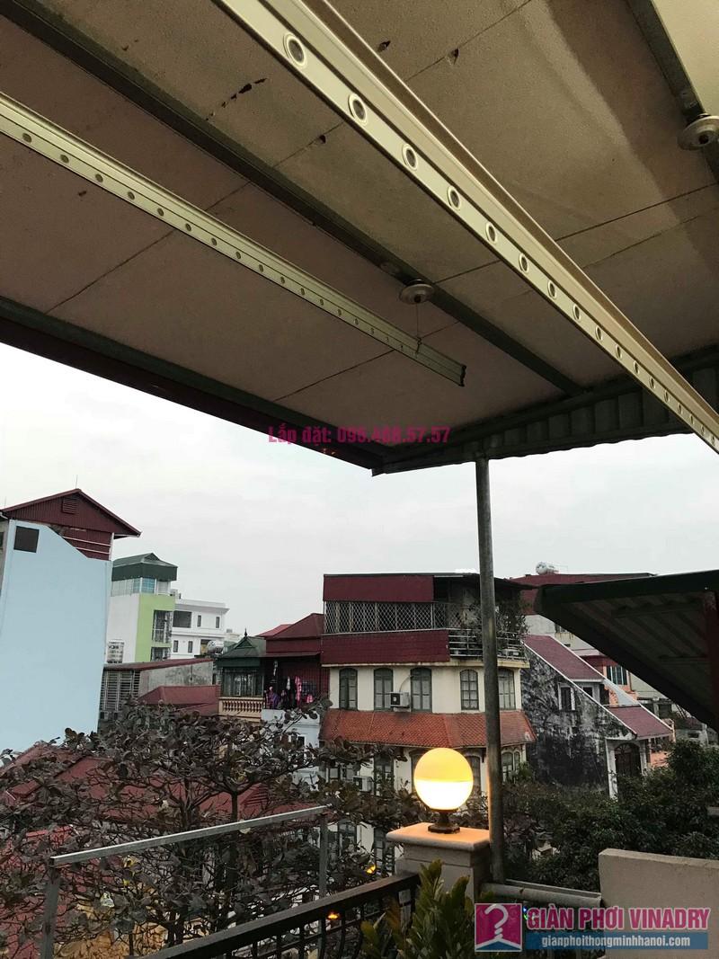 Sửa giàn phơi nhà anh Toàn, 58 Mã Mây, Hoàn Kiếm, Hà Nội - 01