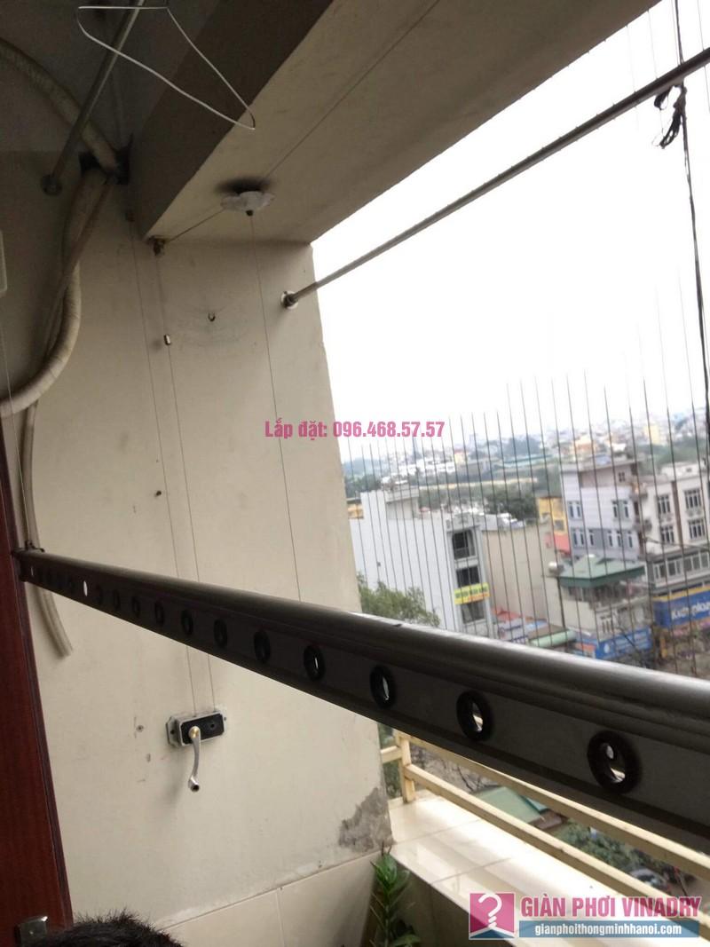 Thay dây cáp giàn phơi nhà chị Dung, Tòa CT10 chung cư Đại Thanh, Thanh Trì, Hà Nội - 02
