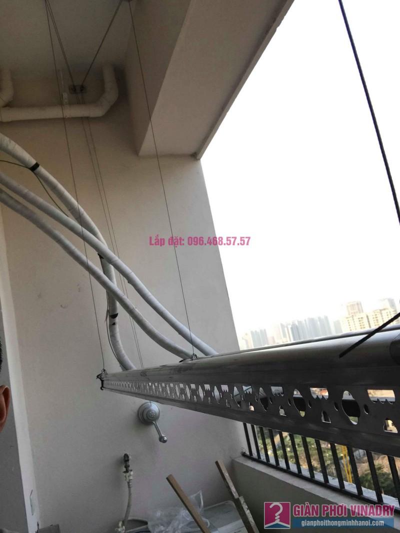 Lắp giàn phơi quần áo nhà chị Mai, chung cư Tăng Thiết Giáp, Đình Thôn, Nam Từ Liêm, Hà Nội - 02