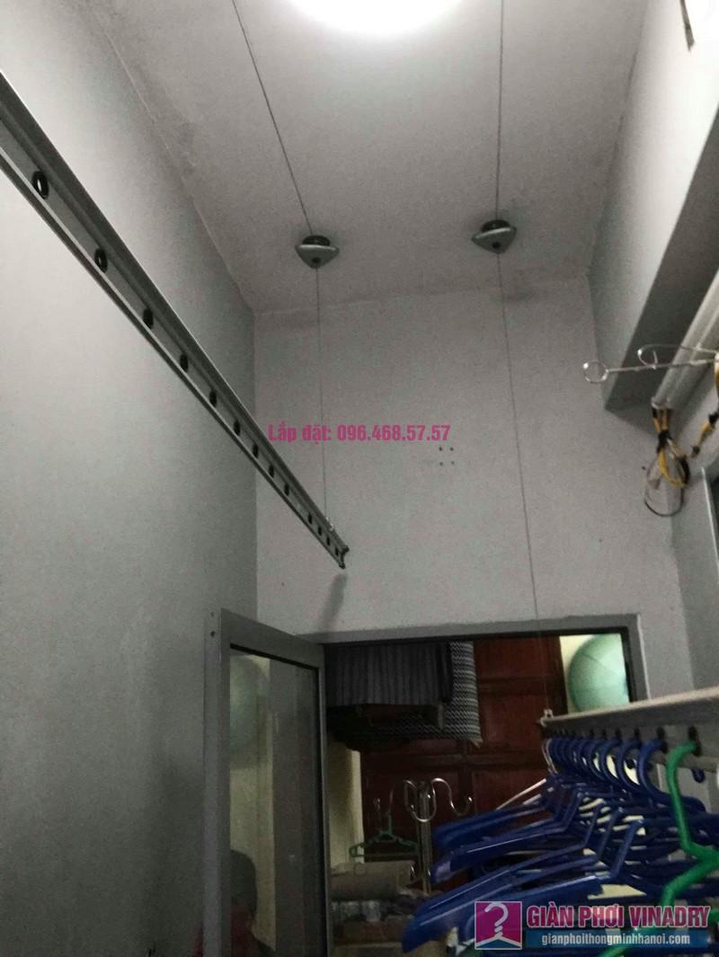 Sửa giàn phơi nhà chị Minh, chung cư CT19 Kiến Hưng, Hà Đông, Hà Nội - 02