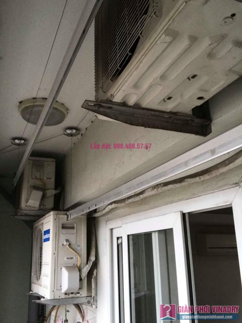 Sửa giàn phơi Hà Đông nhà chị Thắm, chung cư số 7 Trần Phú - 02