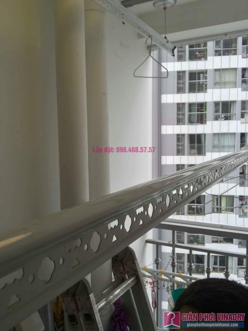 Lắp giàn phơi quần áo thông minh nhà anh Hải, Park5, Park Hill Times City - 03