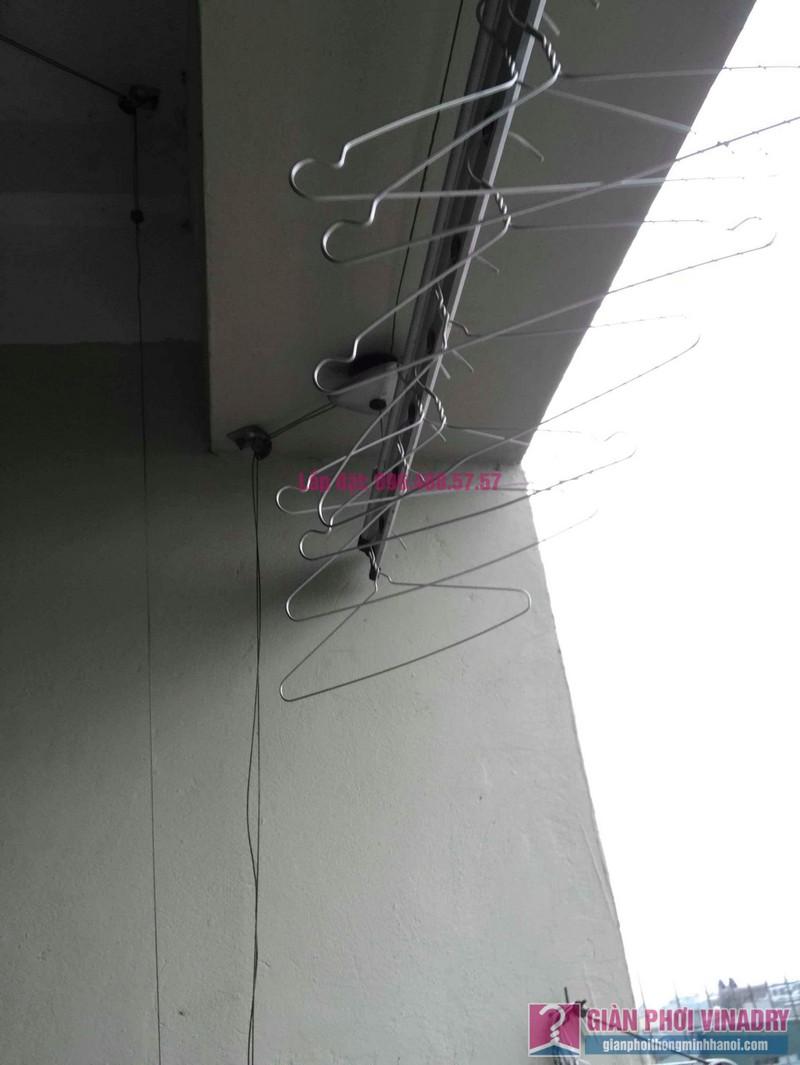 Thay hộp quay giàn phơi Hòa Phát 999B nhà chị Đào, chung cư 8B Đại Thanh, Thanh Trì, Hà Nội - 03