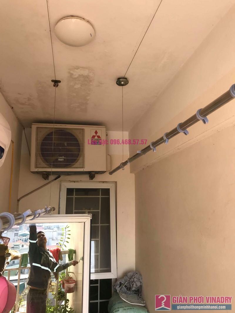 Sửa giàn phơi thông minh nhà anh Nam, chung cư 789 Bộ Quốc Phòng, Nam Từ Liêm, Hà Nội - 03