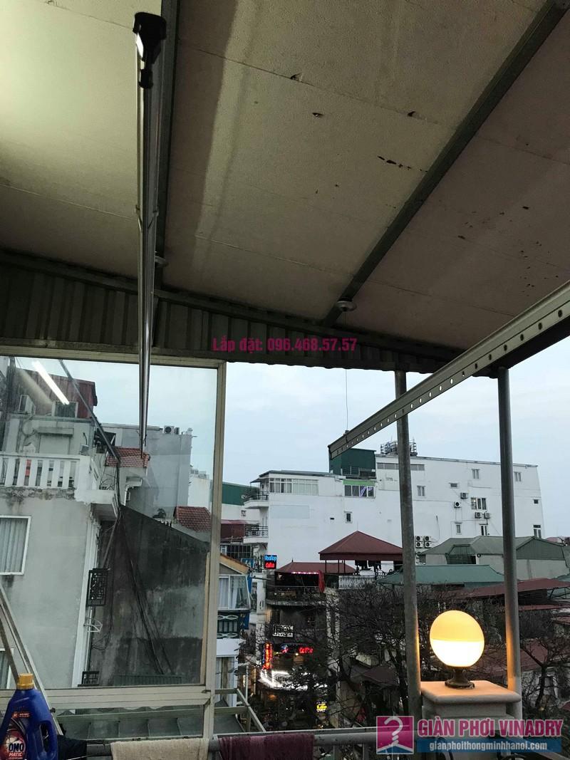 Sửa giàn phơi nhà anh Toàn, 58 Mã Mây, Hoàn Kiếm, Hà Nội - 03