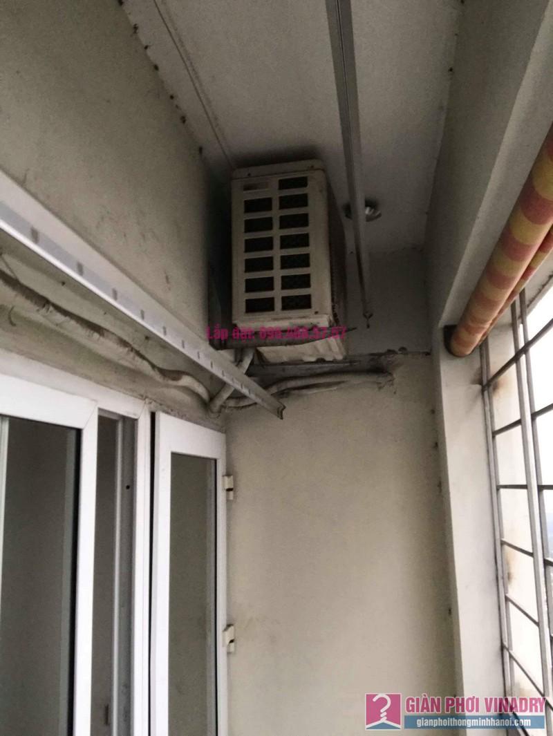 Sửa giàn phơi Hà Đông nhà chị Thắm, chung cư số 7 Trần Phú - 03